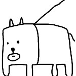田辺誠一sカッコいい犬
